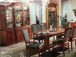 komplett möbel italien wohn esszimmer giotto kirschbaum