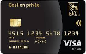 plafond debit carte visa signature rbc récompenses visa rbc banque royale