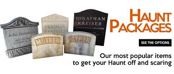Funny Halloween Tombstones For Sale by Tombstone Factory We Dream In Halloween