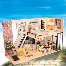 Amazoncom VORCOOL 5pcs 112 Dollhouse Miniature Dining Table Chair