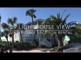 29 Lighthouse View │Tybee Vacation Rental│Oceanfront Cottage