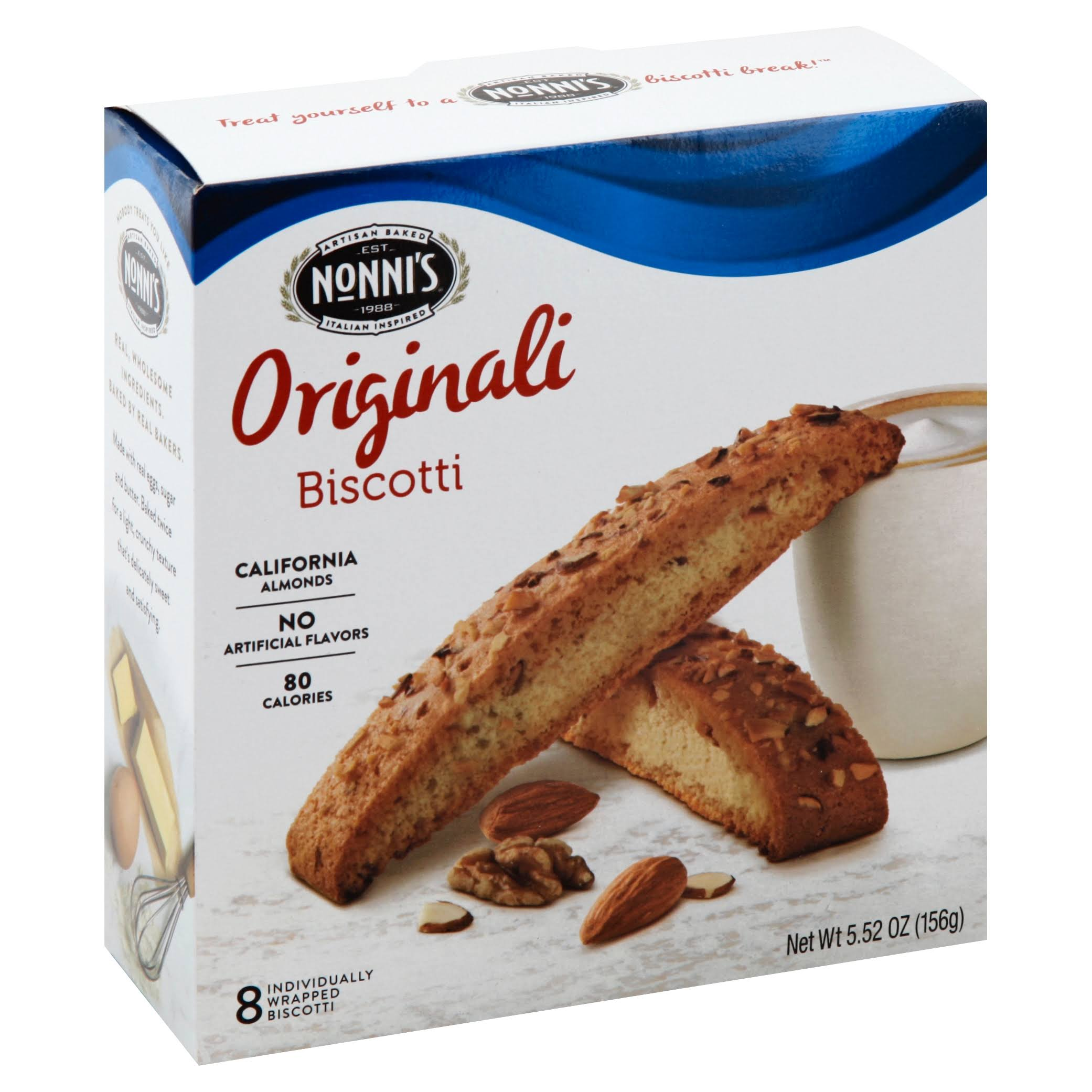 Nonnis Original Biscotti Cookie - 6pk