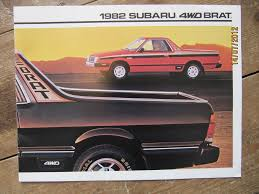 100 Subaru With Truck Bed 1982subarubratbed The Fast Lane