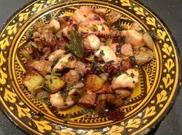 cuisiner le poulpe poulpe à la portugaise fitnext