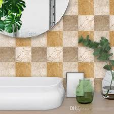 großhandel mable gedruckt 10 stück spa badezimmer aufkleber eco freundliche wand und boden aufkleber wasserdicht und anti rutsch für badezimmer