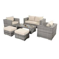 Rattan Outdoor Seating Set