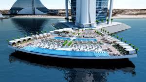 100 Burj Al Arab Plans Hotel Terrace Bluetech Finland