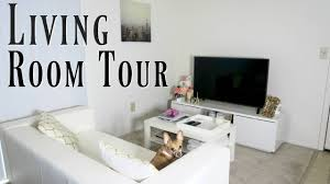 100 Modern Chic Living Room White And Gold Tour 2019 YouTube