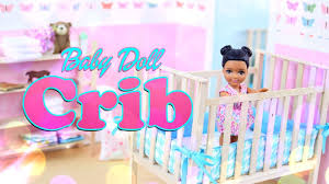 DIY - How To Make: Baby Doll Crib - Handmade - Furniture -Craft - 4K Star Bright Doll High Chair Wooden Dollhouse Kitchen Fniture 796520353077 Ebay Childcare The Pod Universal Dolls House Miniature Accessory Room Best High Chairs For Your Baby And Older Kids Highchair With Tray Antilop Silvercolour White Set Of Pink White Rocking Cradle Cot Bed Matching Feeding Toy Waldorf Toys Natural Twin Twin Chair Oueat Duo Guangzhou Hongda Craft Co Ltd Diy Mini Kit Melissa Doug 9382