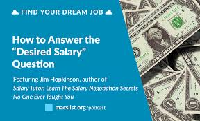 Front Desk Manager Salary Nyc by How To Answer Questions About Your Desired Salary