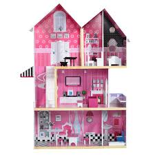 100 Three Storey Houses Wooden House Mansion Girls Kids Doll House Play
