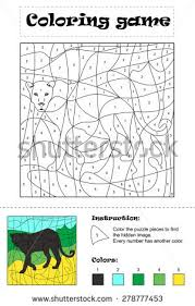 Childrens Playground Coloring Vector Illustration Black Stock