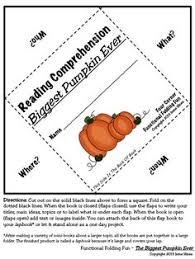The Biggest Pumpkin Ever By Steven Kroll by Pumpkin Life Cycle Common Core Literacy Activities U0026 Learning