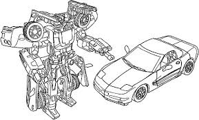 Coloring Pages For Boys Cars Bumblebee Car Best Place To Color