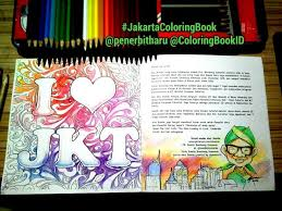 Mas Be Coba Mewarnai Halaman Terakhir Coloringbook Exploringjakarta Bukumewarnaidewasa Jakartacoloringbook Dari Penerbitharu Betawi Jakarta