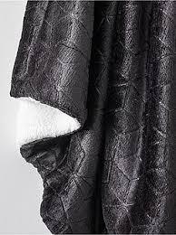 plaid noir pour canapé plaid linge de maison kiabi