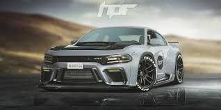 Widebody Dodge Charger Hellcat Rendered As the Coupe Dodge Needs