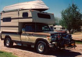 Custom Built Camper With Ford F 350 Truck