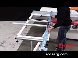 scm si400 nova panel saw scott sargeant woodworking machinery