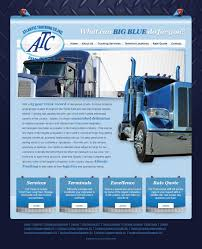100 Atlantic Trucking PSD To WP Theme Co Smad IT