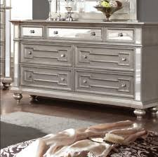 Hayworth Mirrored Chest Silver by Silver Dressers And Chests Of Drawers Ebay