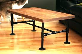 Iron Pipe Desk Coffee Table Fit For Interior Design Legs Home
