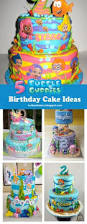Bubble Guppies Cake Decorating Kit by Bubble Guppies Buttercream Ruffle Cake Omg Love This Use Real