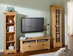 home affaire wohnwand set 3 tlg aus massiver kiefer kaufen otto