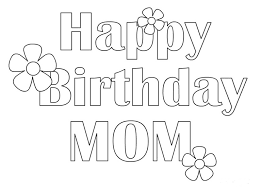 Happy Birthday Coloring Pictures Pages