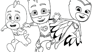 Pj Masks Gecko Coloring Pages Best Of Sheets Mask Pictures To Color And Print Gekko