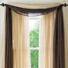 american living cape sheer scarf valance jcpenney home