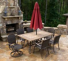 7 Piece Patio Dining Set With Umbrella by Marquesas 7pc Outdoor Dining Set Tortuga Outdoor