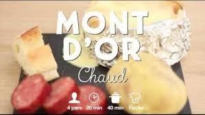 recette mont d or chaud