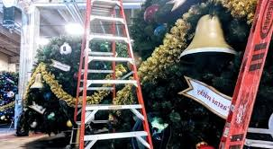 Walt Disney Worlds Holiday Services Warehouse Christmas Trees Stored At
