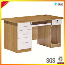 mfc wooden desktop computer table design computer table malaysia