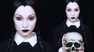 162 Best Halloween Inspiration Images by Wednesday Addams Makeup Tutorial Youtube