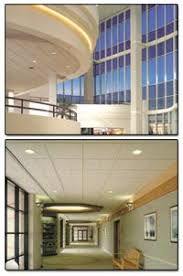 commercial residential ceilings wall systems lighting