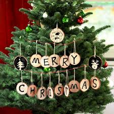 Kinds Of Christmas Tree Decorations by Online Buy Wholesale Wooden Christmas Decorations From China