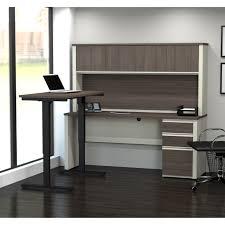 Wayfair Desks With Hutch by L Shaped Standing Desk Best Home Furniture Decoration