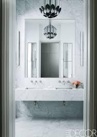 Modern Chandelier Over Bathtub by 50 Bathroom Lighting Ideas For Every Style Modern Light Fixtures
