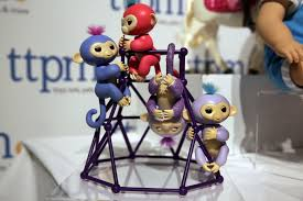 26 2017 Photo Shows Fingerlings From WowWee On Display