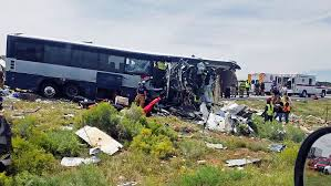 100 Truck Stops In New Mexico 7 Killed Many Injured In Crash Of Bus Headed To Phoenix