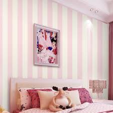 beibehang einfache vertikale gestreifte tapete vliestapete warme wohnzimmer schlafzimmer kinderzimmer prinzessin rosa tapete