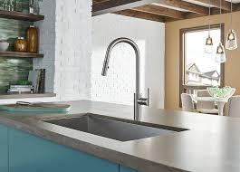 Danze Parma Stainless Steel Kitchen Faucet by Danze D454058ss Parma Café Single Handle Pull Down Kitchen Faucet