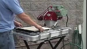 Mk Tile Saw 470 by Mk 101 Tile Saw Demonstration Video Video Dailymotion