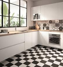 dekor fliese patchwork schwarz weiß retro dekor 20x20cm patchwork black white mix sant agostino