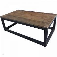 table ronde bureau table de salon bois et metal