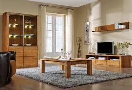 wohnzimmer komplett set d jussara 4 teilig teilmassiv farbe bernstein