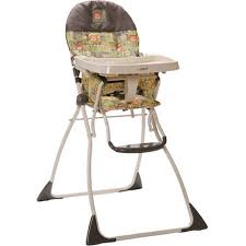 cosco flat fold high chair born to be wild walmart com