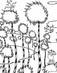 Printable Lorax Coloring Pages For Kids